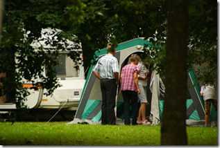 Noget af 'campingpladsen'