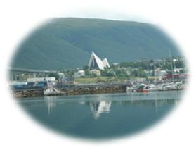 Tromsø med katedralen