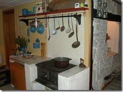 Køkkenet på ødegården
