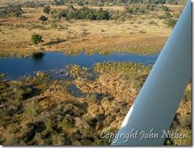 Okavango set oppefra
