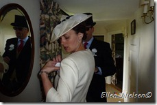 Royal Ascot 2012 - badges are being fixed