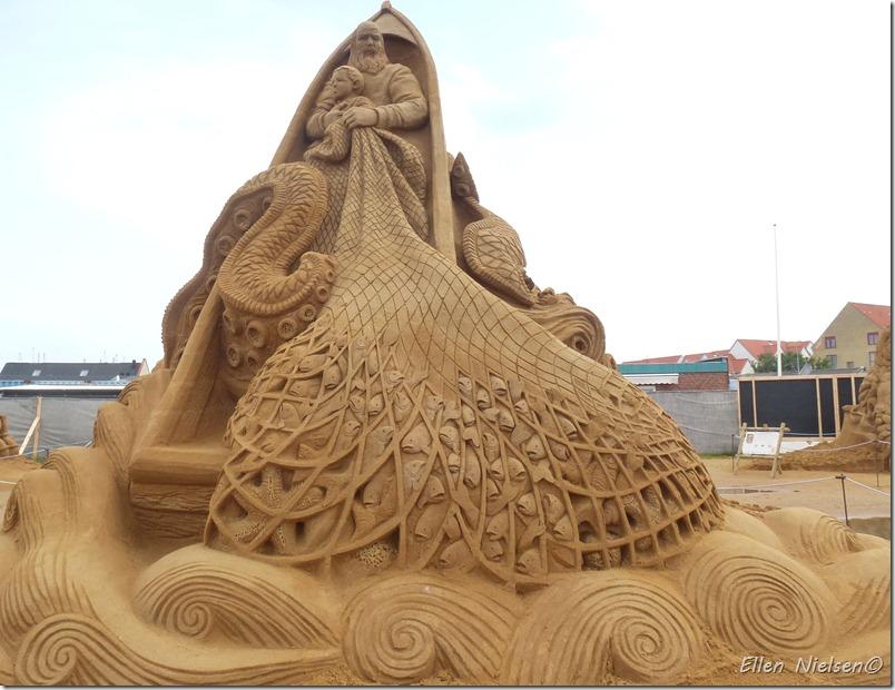 Hundested sandskulpturfestival 2012