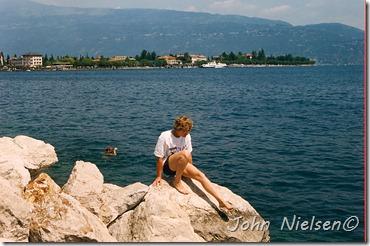 Ved Comosøen i 1996