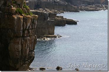 En walisisk kyst