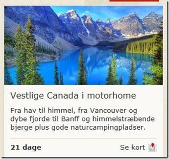 Canada i Motorhome