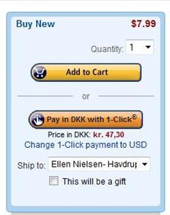 Amazon - 1-click