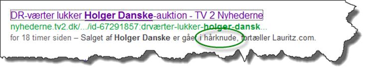 Holger Hårknude