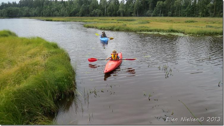 Kajaktur på åen