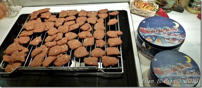 Hjemmelavede brunkager