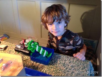Aubreys 7-års-gave fra Arthur