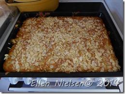 Bradepande-æblekage