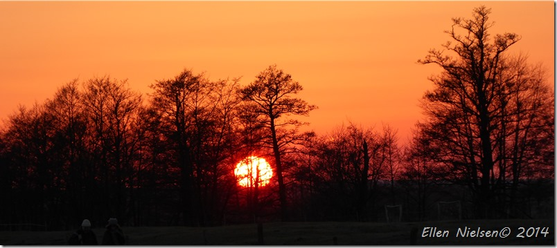 Solnedgang ved Pulken