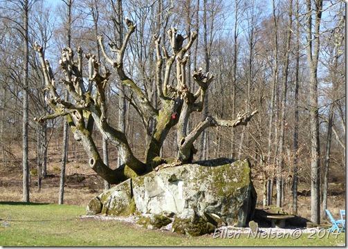 'Skulptur' i haven