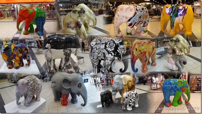 Elefantparade i Næstved Storcenter 2