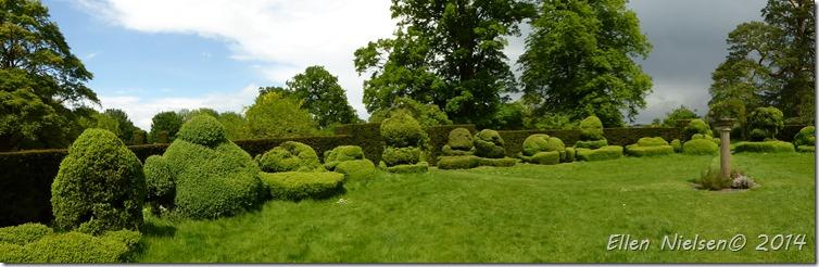 Chastleton House - garden
