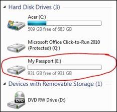 1 Terabyte -
