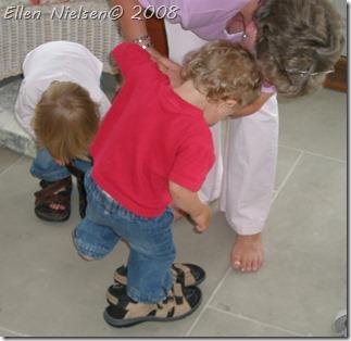Mommers sko afprøves