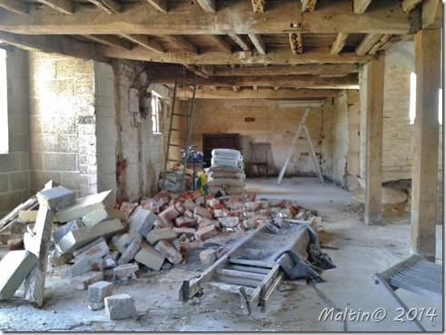 Stor stue i malthuset - 11 meter