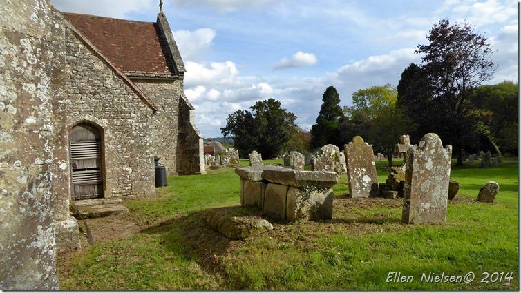 En engelsk kirkegård