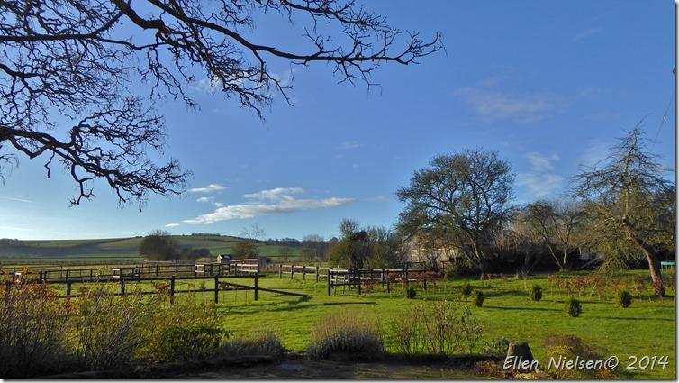 Sol over Wiltshire 24. december 2014