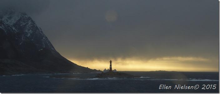 Fyrtårn ved Lofoten