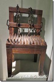 Torturstol til 'hekse'