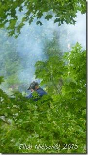 Afbrænding i regnvejr (1)