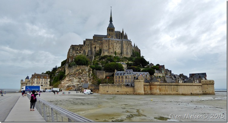 Mont St Michel - low tide