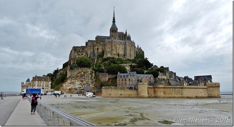 Mont St Michel - low tide