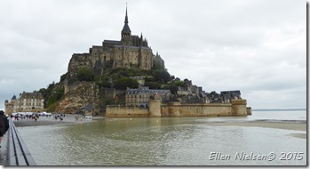Mont St Michel - by not lowest tide ...