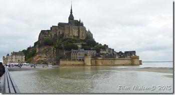 Mont St Michel - by not lowest tide ...