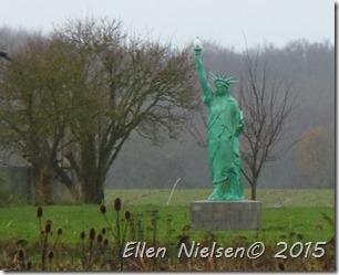 Frihedsgudinden i Maglebrænde