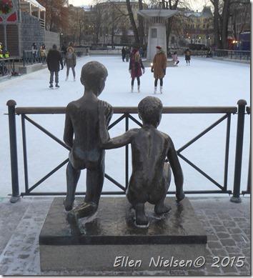 På skøjter i Oslo