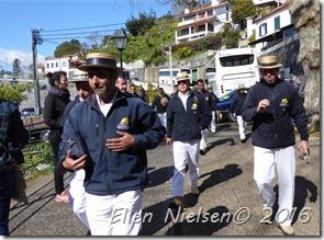 Slædeførerne på Madeira