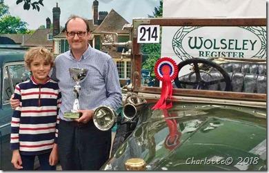Bilen vandt 1-præmie i Bristol