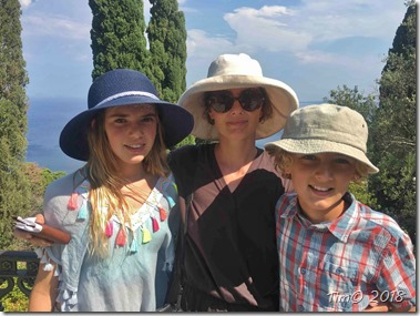 Familien på Korfu