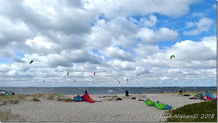 Kitesurfing ved Lynæs