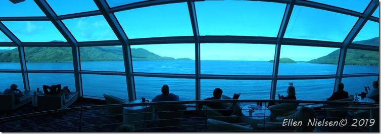 Sky View Café forrest på skibet