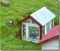 Sødt lille drivhus på Færøerne