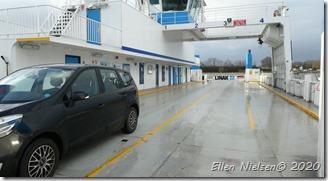 Als - alene på færgen