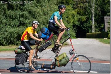 En pudseløjerlig cykel