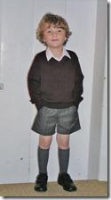 1. skoledag 2011 - bare 4½ år