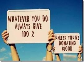 Giv dig selv 100 procent