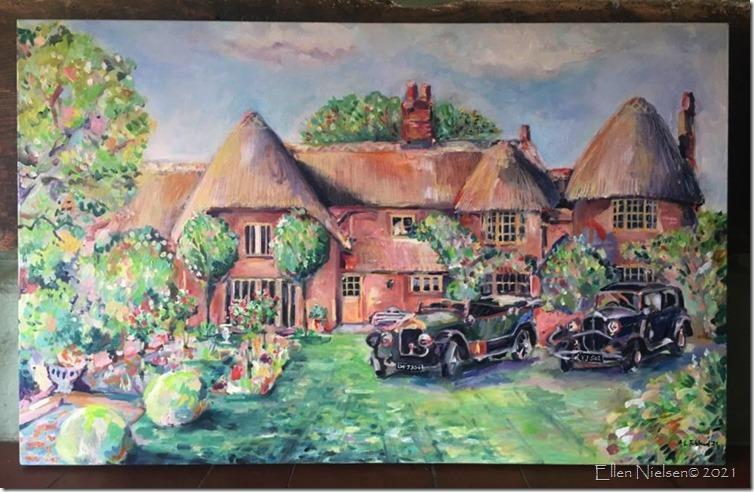 Malt House painted by AL